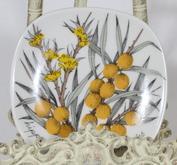 Arabia Botanica Tyrni koristelautanen, suunnittelija Esteri Tomula