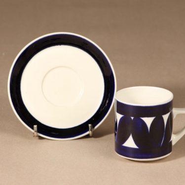 Arabia Sotka kahvikuppi, 15 cl, suunnittelija Raija Uosikkinen, 15 cl, käsinmaalattu kuva 2