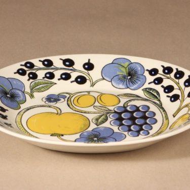 Arabia Paratiisi plate, oval, Birger Kaipiainen