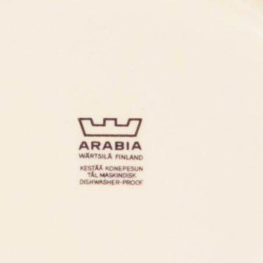 Arabia Paratiisi lautanen, ovaali, suunnittelija Birger Kaipiainen, ovaali, serikuva, ovaali kuva 3