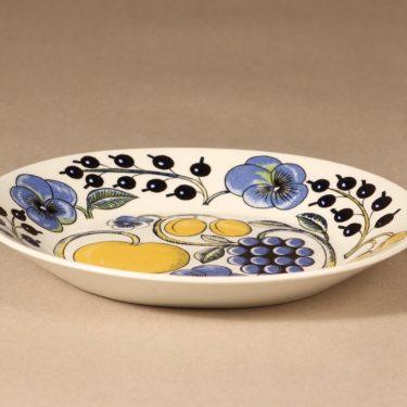 Arabia Paratiisi oval plate, Birger Kaipiainen