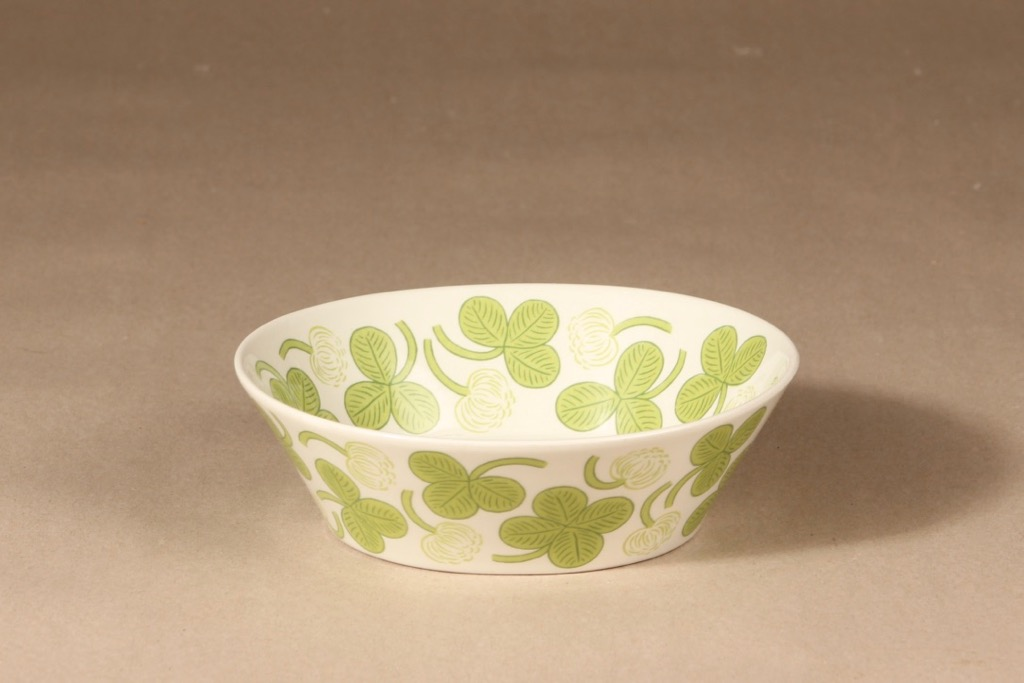 Arabia Apila bowl, oval, deep, designer Birger Kaipiainen, silk screening