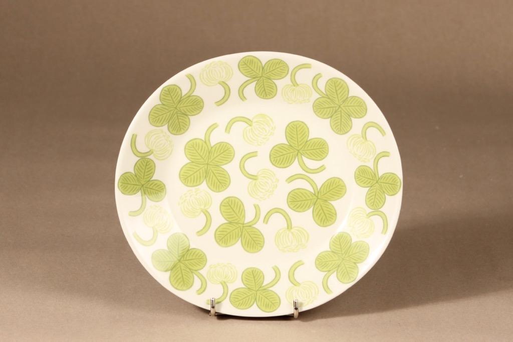 Arabia Apila plate, oval, shallow, designer Birger Kaipiainen, silk screening