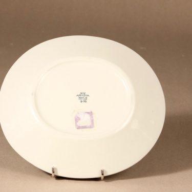 Arabia Apila lautanen, ovaali matala, suunnittelija Birger Kaipiainen, ovaali matala, serikuva, ovaali kuva 3