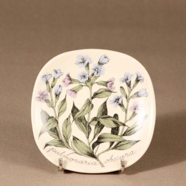 Arabia Botanica wall plate Lung-wort designer Esteri Tomula
