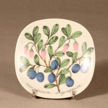 Arabia Botanica wall plate Whortleberry designer Esteri Tomula