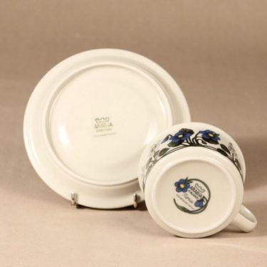 Arabia Flora teekuppi, suunnittelija Esteri Tomula, serikuva, kukka-aihe kuva 3