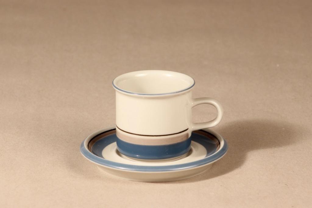 Arabia Uhtua coffee cup, Inkeri Leivo