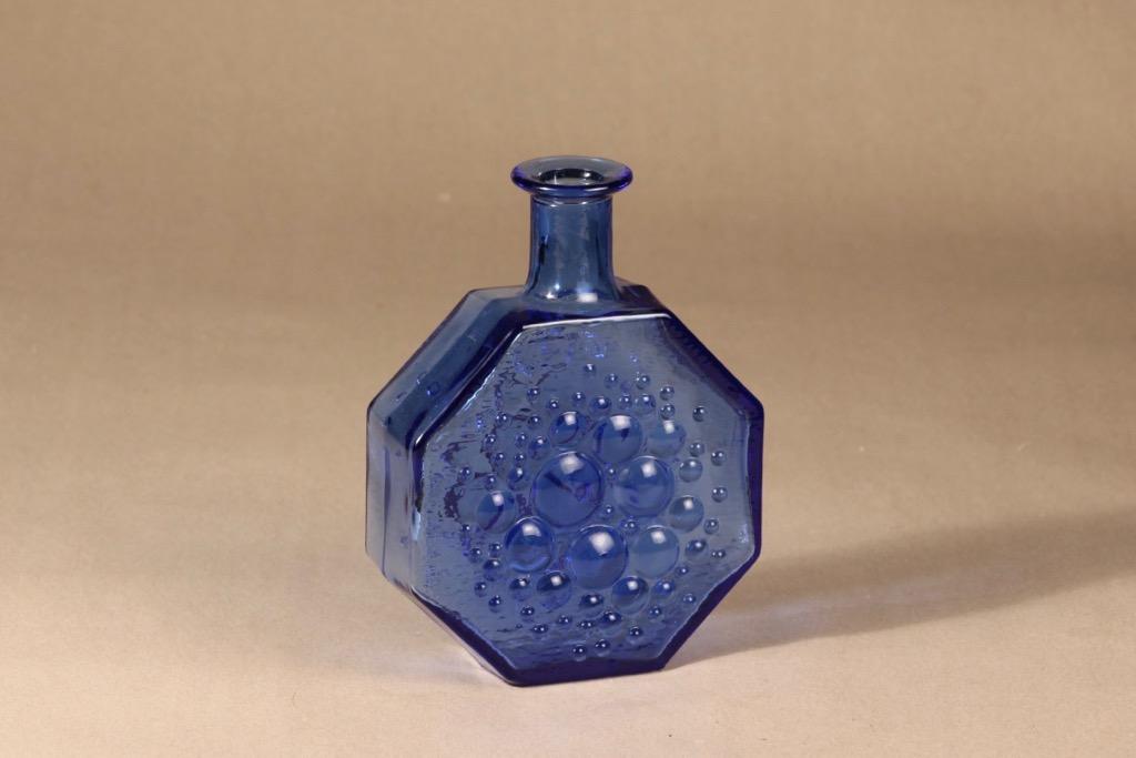Riihimäen lasi Stella Polaris koristepullo,, suunnittelija Nanny Still,