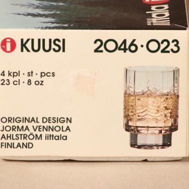 Iittala Kuusi juomalasi, 23 cl, 4 kpl, suunnittelija Jorma Vennola, 23 cl kuva 3