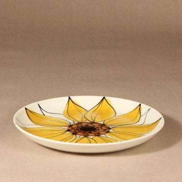 Arabia Aurinkoruusu plate, hand-painted, Hilkka-Liisa Ahola