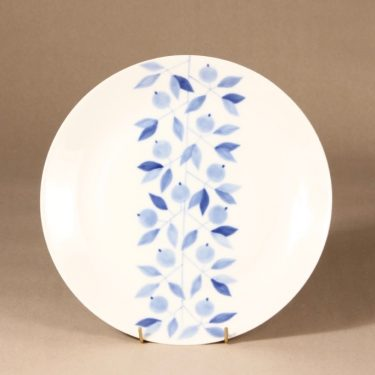 Arabia Myrtilla platter, 1959-62, designer Esteri Tomula, silk screening, hand-painted