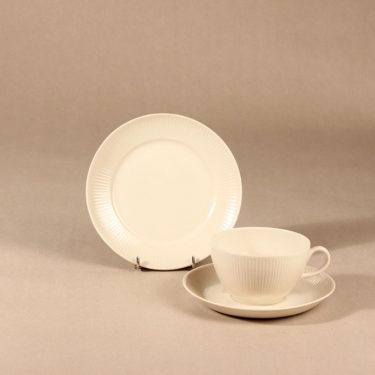 Arabia Sointu tea cup, saucer and plate, 30cl, Kaj Franck