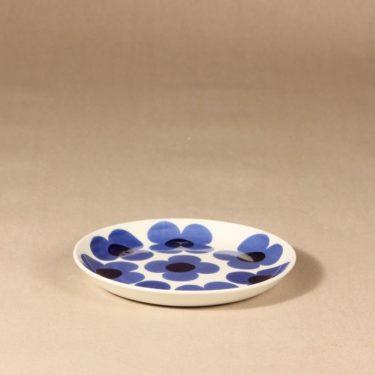 Arabia Aurinko lautanen, pieni, suunnittelija Esteri Tomula, pieni, serikuva, kukka-aihe, pieni