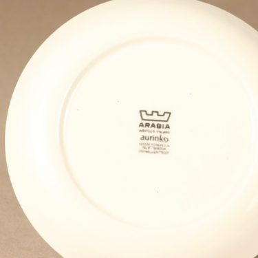 Arabia Aurinko lautanen, pieni, suunnittelija Esteri Tomula, pieni, serikuva, kukka-aihe, pieni kuva 3
