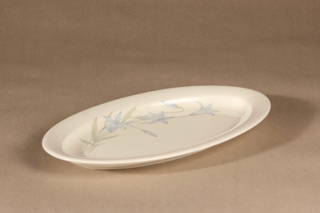 Arabia Sinikello serving plate design Esteri Tomula