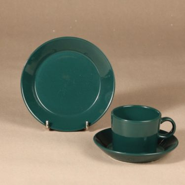 Arabia Kilta coffee cup 3 pcs green design Kaj Franck