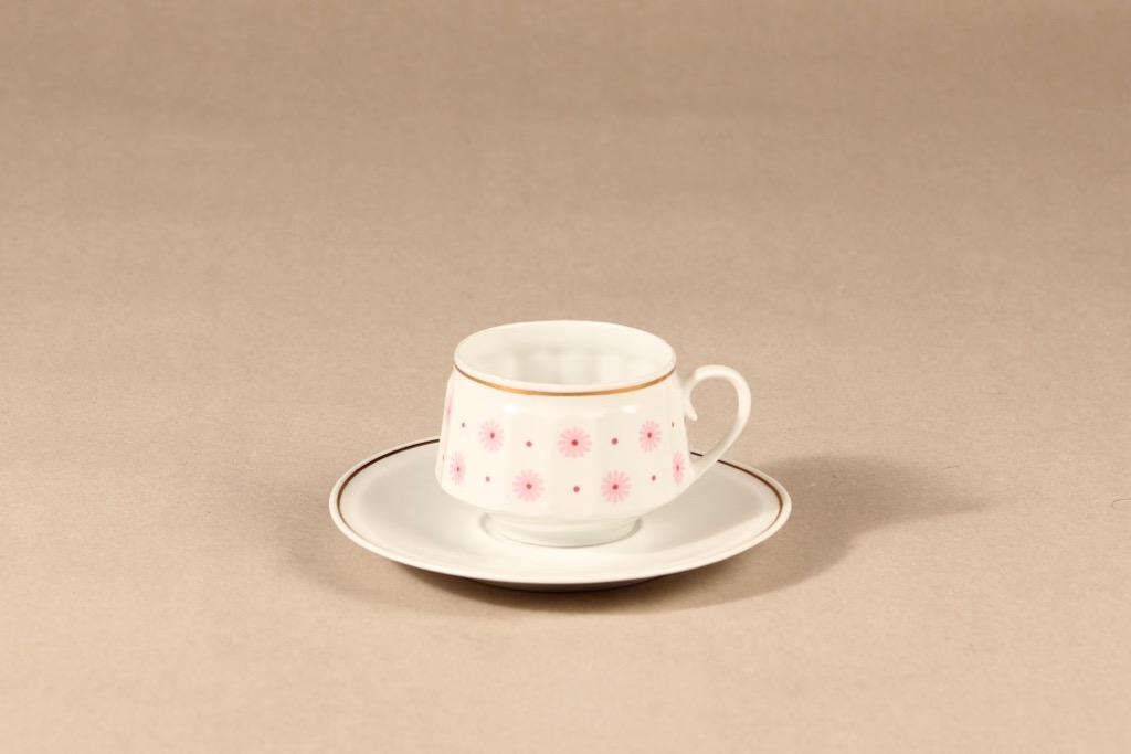 Arabia Roksana coffee cup, pink, Richard Lindh