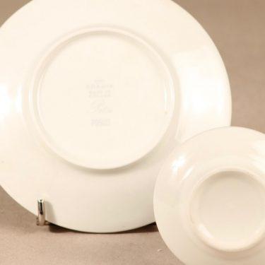 Arabia Pitsi kahvikuppi ja lautaset, 3 osaa, suunnittelija Raija Uosikkinen, 3 osaa, serikuva kuva 4