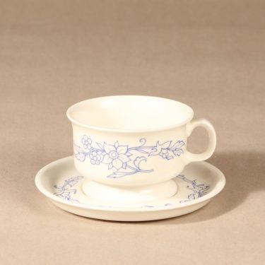 Arabia sininen keittiö teekuppi