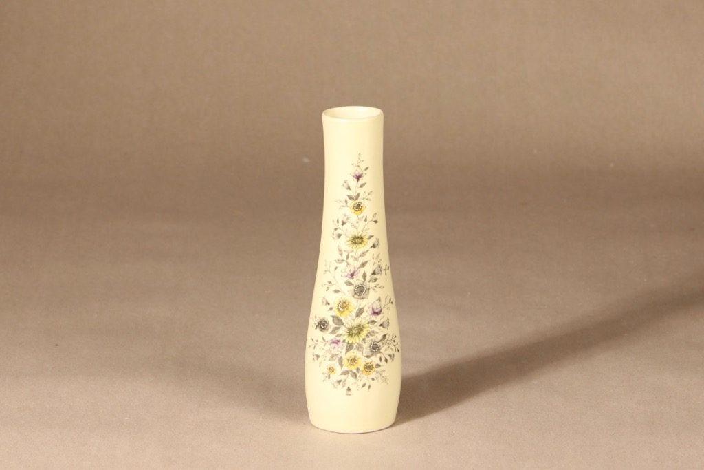 Arabia Fennica maljakko, käsinmaalattu signeerattu, suunnittelija Esteri Tomula, käsinmaalattu, signeerattu, signeerattu, käsinmaalattu