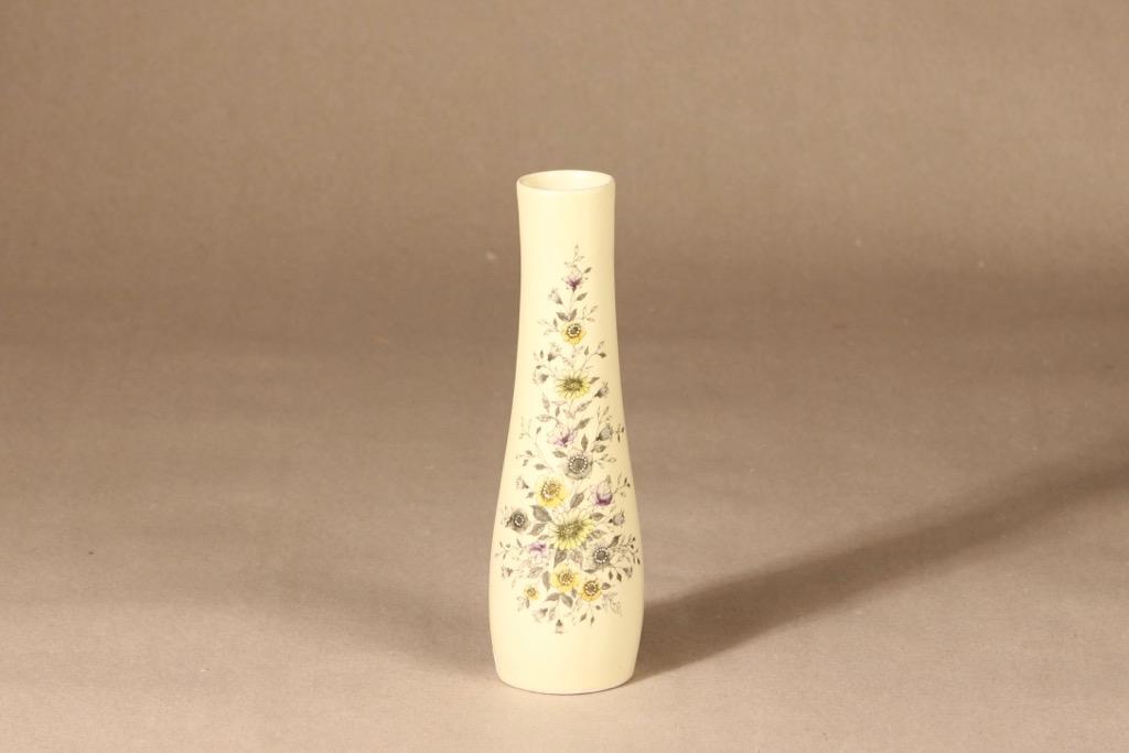 Arabia Fennica vase, hand-painted, signed, designer Esteri Tomula