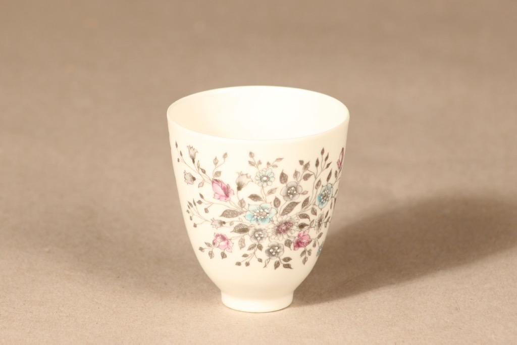 Arabia Fennica bowl, hand-painted, signed, designer Esteri Tomula
