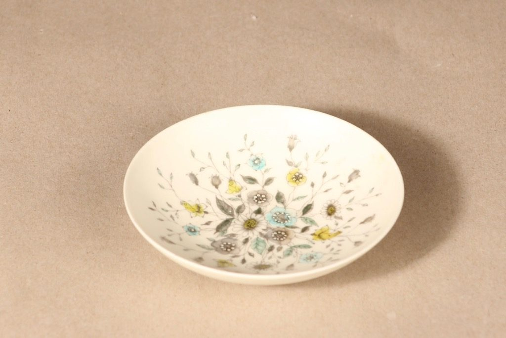 Arabia Fennica bowl, hand-painted, signed design Esteri Tomula
