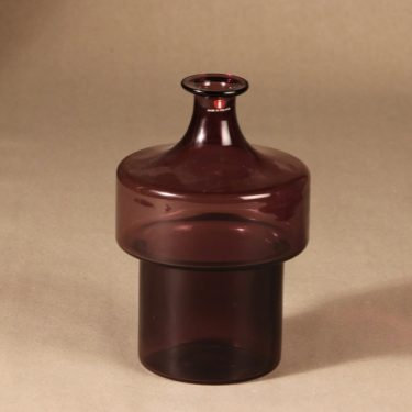 Iittala 2509 bottle, stackable design Timo Sarpaneva
