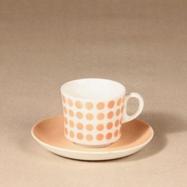 Arabia Pop kahvikuppi, puhalluskoriste, suunnittelija , puhalluskoriste, puhalluskoriste, retro