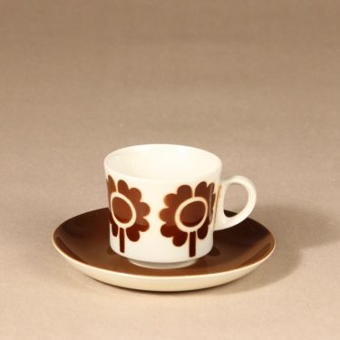 Arabia Miranda kahvikuppi, puhalluskoriste, suunnittelija , puhalluskoriste, puhalluskoriste, retro