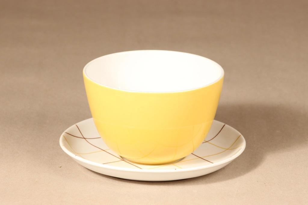 Arabia Verkko bowl and plate design Raija Uosikkinen