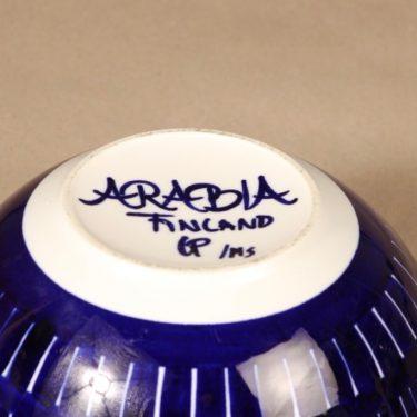 Arabia Valencia kulho, käsinmaalattu, suunnittelija Ulla Procope, käsinmaalattu, käsinmaalattu, signeerattu kuva 2