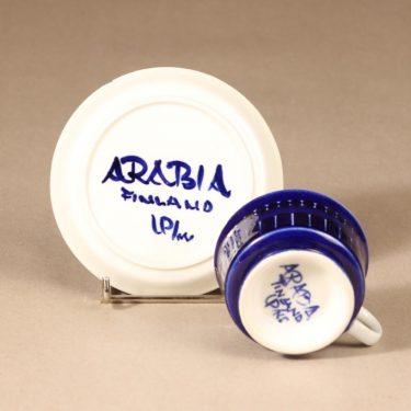 Arabia Valencia mokkakuppi, 6 kpl, 6 kpl, suunnittelija Ulla Procope, 6 kpl, käsinmaalattu, signeerattu kuva 4