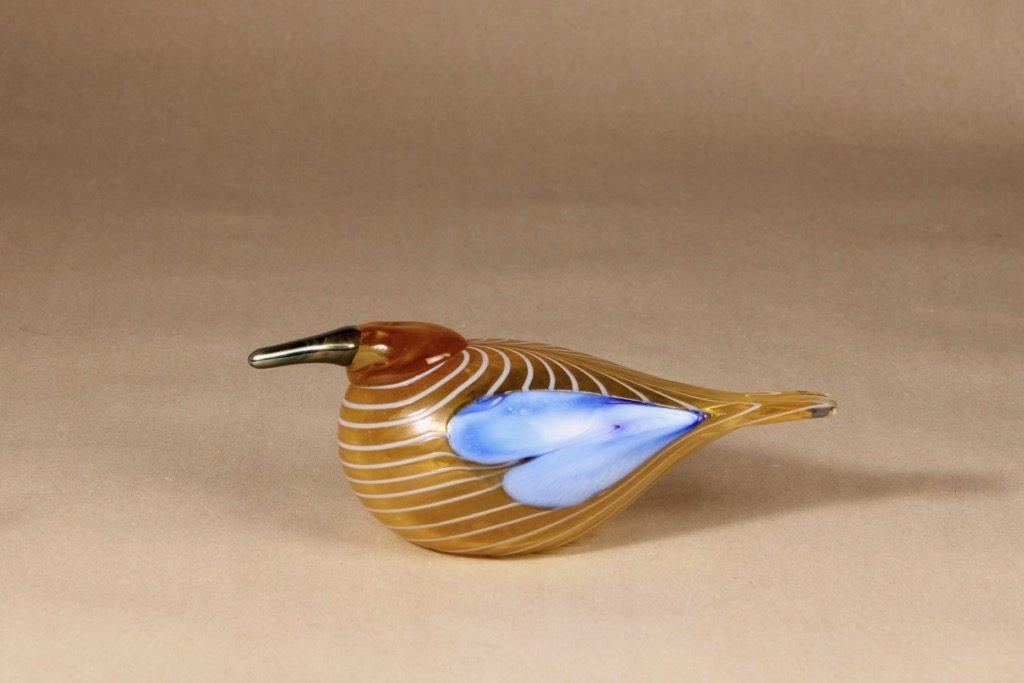 Nuutajärvi annual bird 2004, Blue Scaup Duck design Oiva Toikka