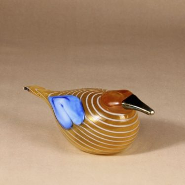Nuutajärvi annual bird 2004, Blue Scaup Duck design Oiva Toikka photo 2