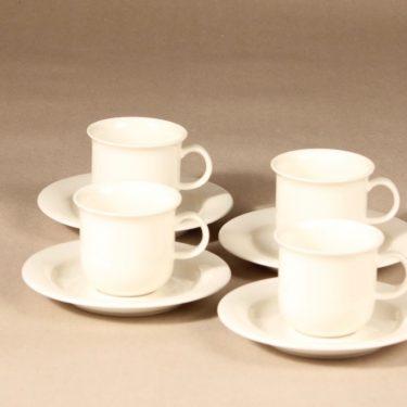 Arabia Arctica   kahvikuppi,  , 4 kpl, suunnittelija Inkeri Leivo,