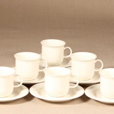 Arabia Arctica   kahvikuppi,  , 6 kpl, suunnittelija Inkeri Leivo,