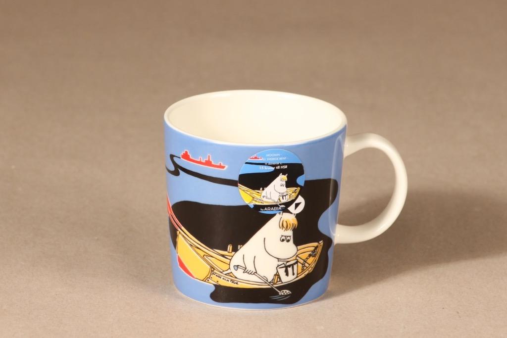 Arabia Moomin mug Our Coast design Tove Slotte