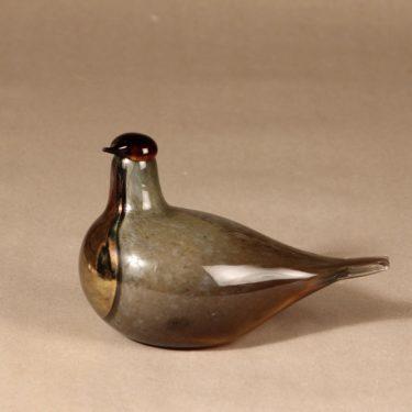 Nuutajärvi Sipi bird, limited edition design Oiva Toikka
