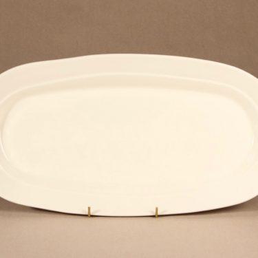Arabia Tuuli platter, white, designer Heljä Liukko-Sundström, modern, 2