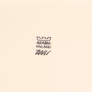 Arabia Tuuli platter, white, designer Heljä Liukko-Sundström, modern, 3