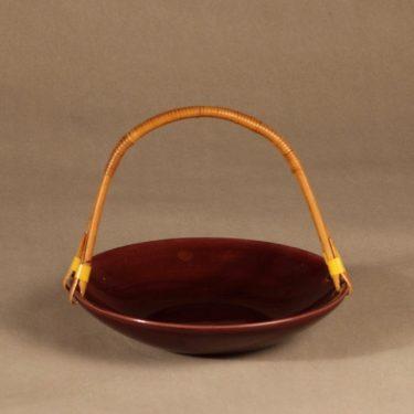 Kupittaan savi bowl, rattan handle