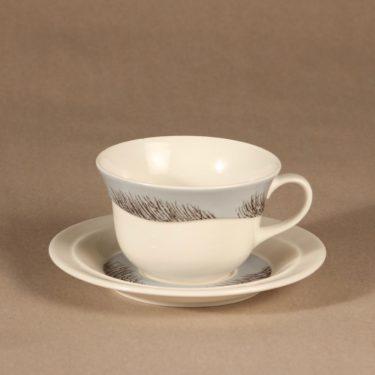 Arabia Merituuli teekuppi, suunnittelija Heljä Liukko-Sundström, serikuva