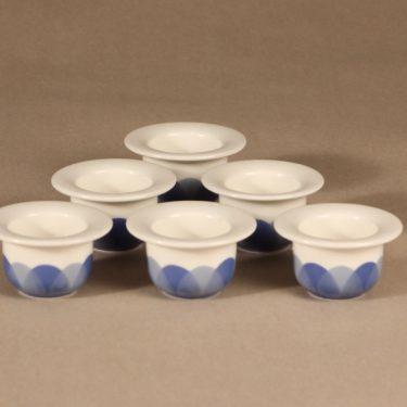 Arabia Pudas Arctica egg cup 6 pcs design Inkeri Leivo