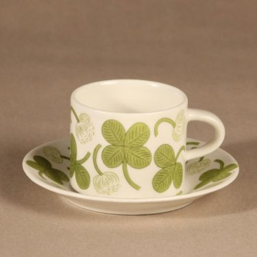 Arabia Apila coffee cup, green, Birger Kaipiainen