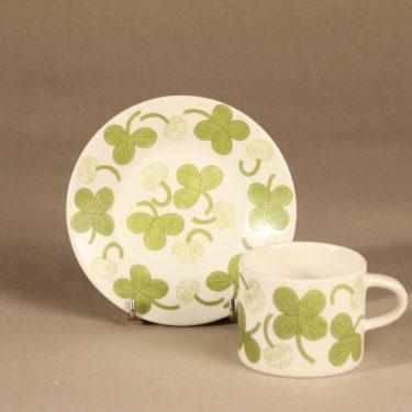 Arabia Apila coffee cup, green, Birger Kaipiainen 2