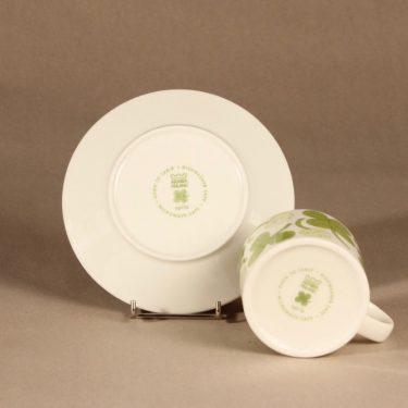 Arabia Apila teekuppi, vihreä, suunnittelija Birger Kaipiainen, serikuva kuva 3