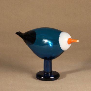 Nuutajärvi bird Blue Magpie design Oiva Toikka photo 2