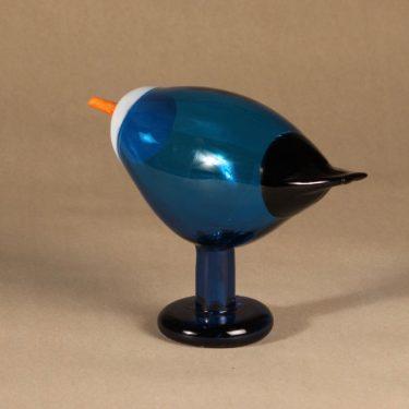 Nuutajärvi bird Blue Magpie design Oiva Toikka photo 3